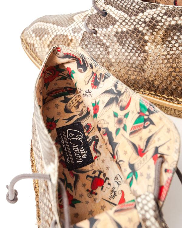 мужская ботинки Le Crown, сезон: лето 2014. Купить за 12600 руб. | Фото 4