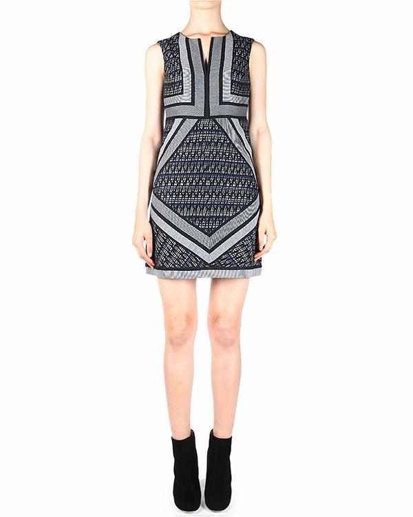 платье AMELIA TWO приталенное, без рукавов артикул D827401L14 марки DIANE von FURSTENBERG купить за 14700 руб.
