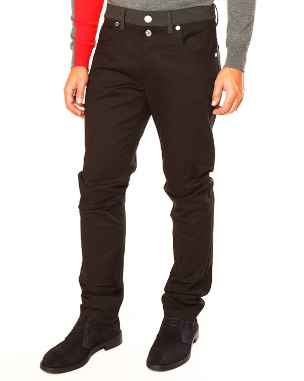 мужская джинсы BIKKEMBERGS, сезон: зима 2013/14. Купить за 6100 руб. | Фото $i
