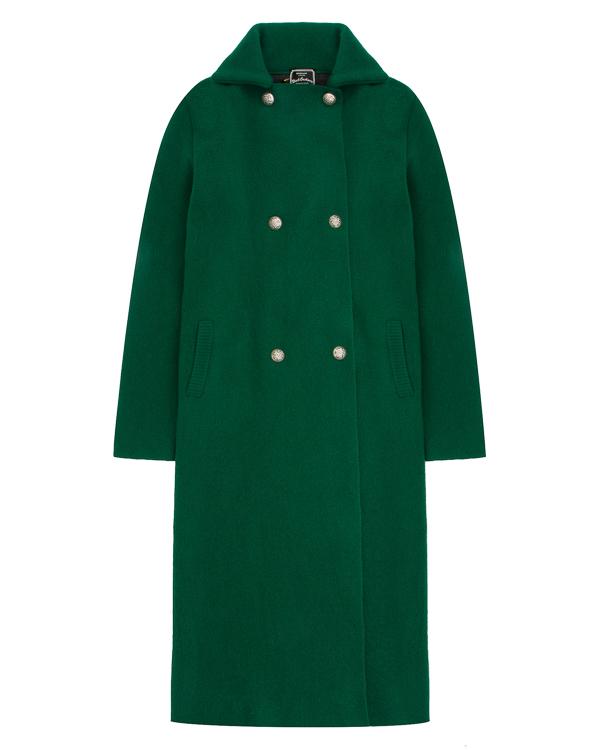 пальто из трикотажной шерсти с принтом на спине артикул DCOPERALCOAT марки Gemma H купить за 39900 руб.