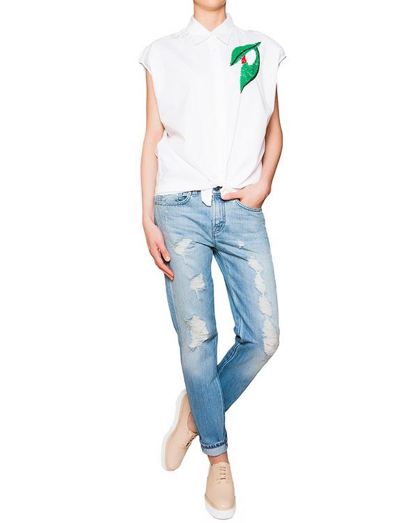 женская джинсы P.A.R.O.S.H., сезон: лето 2016. Купить за 11800 руб. | Фото 3