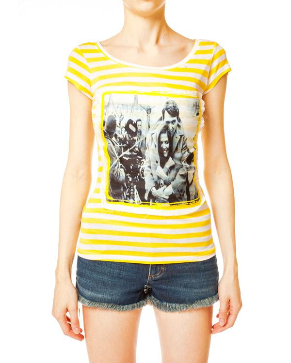 женская футболка Ultra Chic, сезон: лето 2014. Купить за 2900 руб. | Фото 1