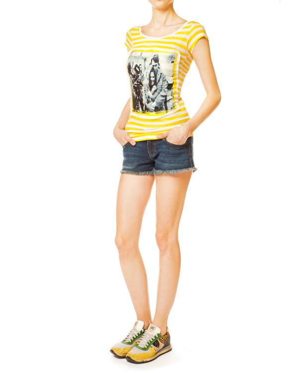 женская футболка Ultra Chic, сезон: лето 2014. Купить за 2900 руб. | Фото 3