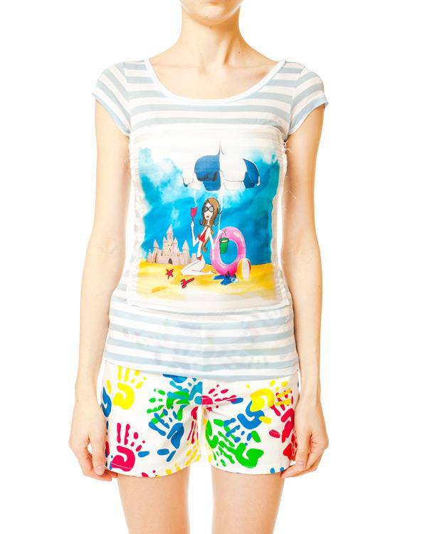 женская футболка Ultra Chic, сезон: лето 2014. Купить за 4800 руб. | Фото 1