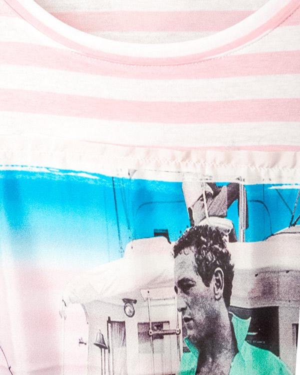 женская футболка Ultra Chic, сезон: лето 2014. Купить за 4800 руб. | Фото 4