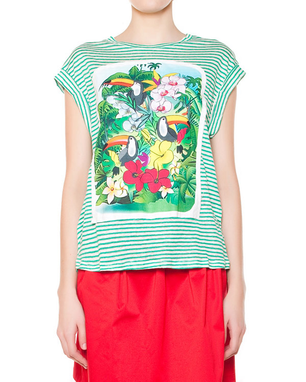женская футболка Ultra Chic, сезон: лето 2015. Купить за 4900 руб. | Фото $i