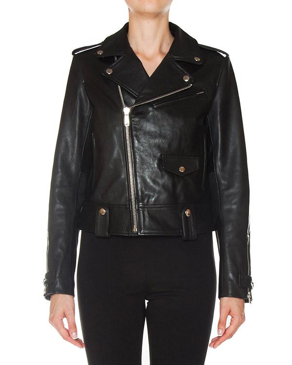 куртка косуха из натуральной кожи артикул DJ052 марки DONDUP купить за 52800 руб.