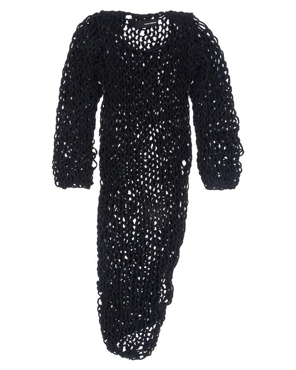 платье крупной вязки в сетку артикул DK01F17 марки Isabel Benenato купить за 31100 руб.