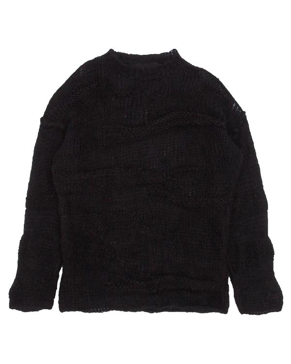 свитер крупной вязки из шерсти артикул DK32F17 марки Isabel Benenato купить за 27000 руб.