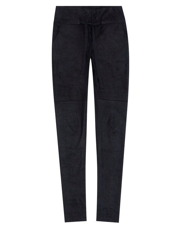брюки из мягкой кожи  артикул DL03F17 марки Isabel Benenato купить за 69200 руб.