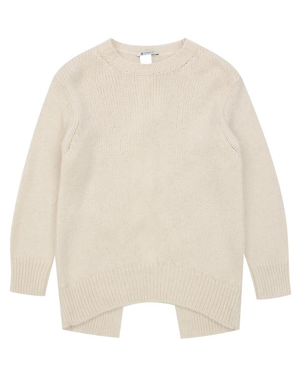 свитер из альпаки и шерсти с завязками на спине  артикул DM142 марки DONDUP купить за 26000 руб.