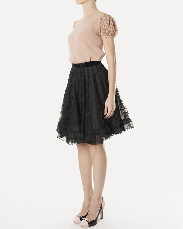 женская юбка Valentino Red, сезон: зима 2012/13. Купить за 13300 руб. | Фото 3