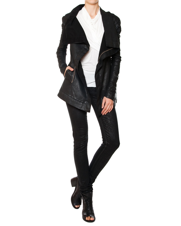 женская джинсы RICK OWENS DRKSHDW, сезон: лето 2015. Купить за 16100 руб. | Фото 3