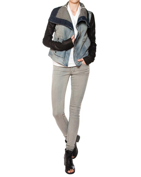 женская джинсы RICK OWENS DRKSHDW, сезон: лето 2015. Купить за 14700 руб. | Фото 3