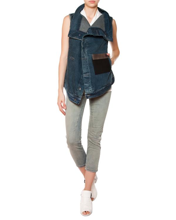 женская джинсы RICK OWENS DRKSHDW, сезон: лето 2015. Купить за 14300 руб. | Фото 3