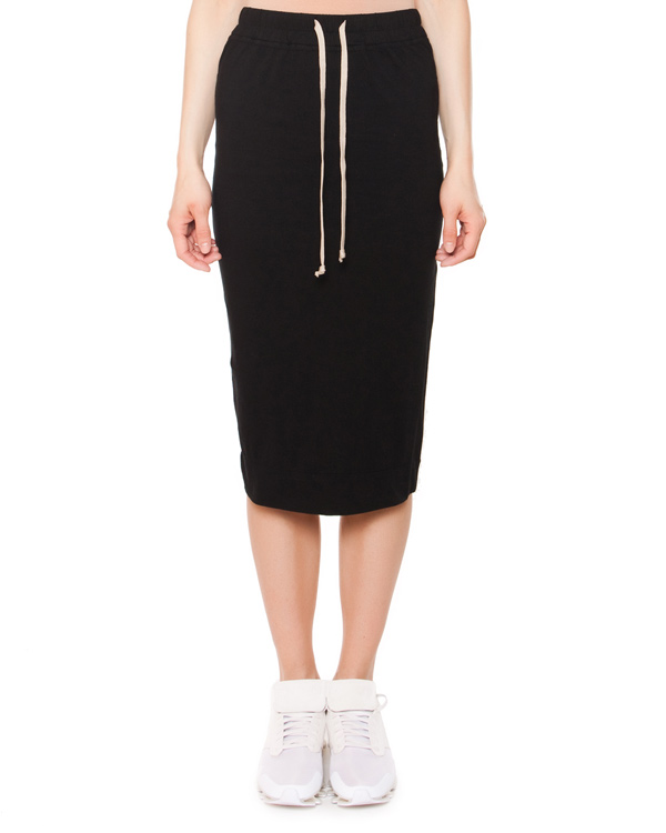 женская юбка RICK OWENS DRKSHDW, сезон: лето 2015. Купить за 9500 руб.   Фото $i