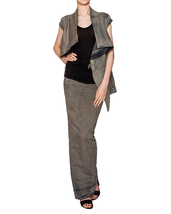 женская юбка RICK OWENS DRKSHDW, сезон: лето 2016. Купить за 32600 руб. | Фото 3