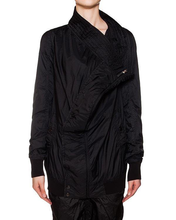 куртка оригинального кроя из водоотталкивающей ткани артикул DS16S1716/NI марки RICK OWENS DRKSHDW купить за 35600 руб.