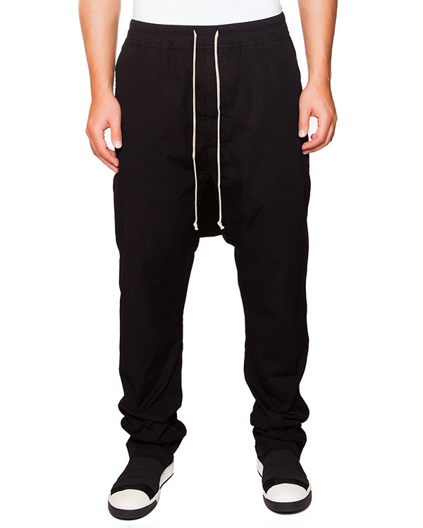 мужская брюки RICK OWENS DRKSHDW, сезон: зима 2015/16. Купить за 22100 руб. | Фото 1
