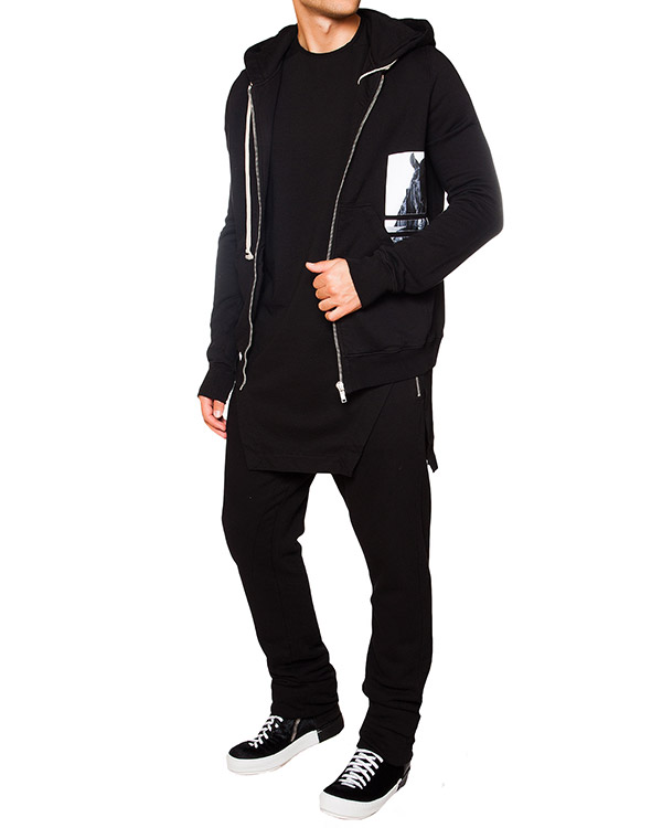 мужская брюки RICK OWENS DRKSHDW, сезон: зима 2015/16. Купить за 21000 руб. | Фото 3
