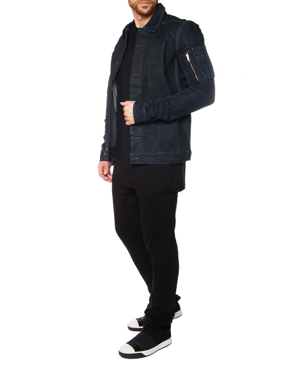 мужская брюки RICK OWENS DRKSHDW, сезон: лето 2015. Купить за 12500 руб. | Фото 3