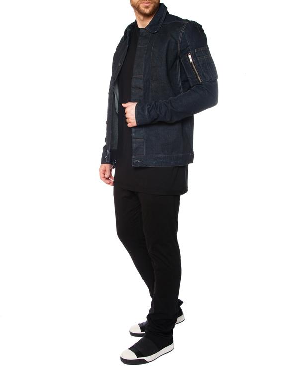 мужская куртка RICK OWENS DRKSHDW, сезон: лето 2015. Купить за 23500 руб. | Фото 3