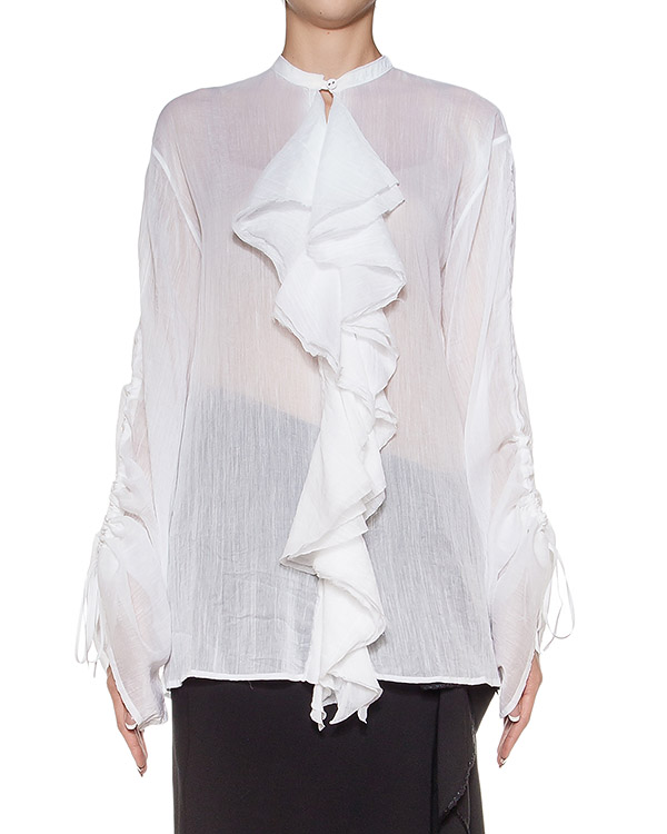 женская блуза Isabel Benenato, сезон: зима 2016/17. Купить за 29200 руб. | Фото 1