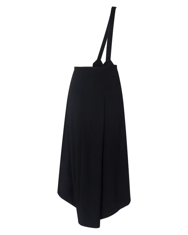 юбка асимметричной длины из эластичной вискозы и шерсти артикул DW47F17 марки Isabel Benenato купить за 27600 руб.