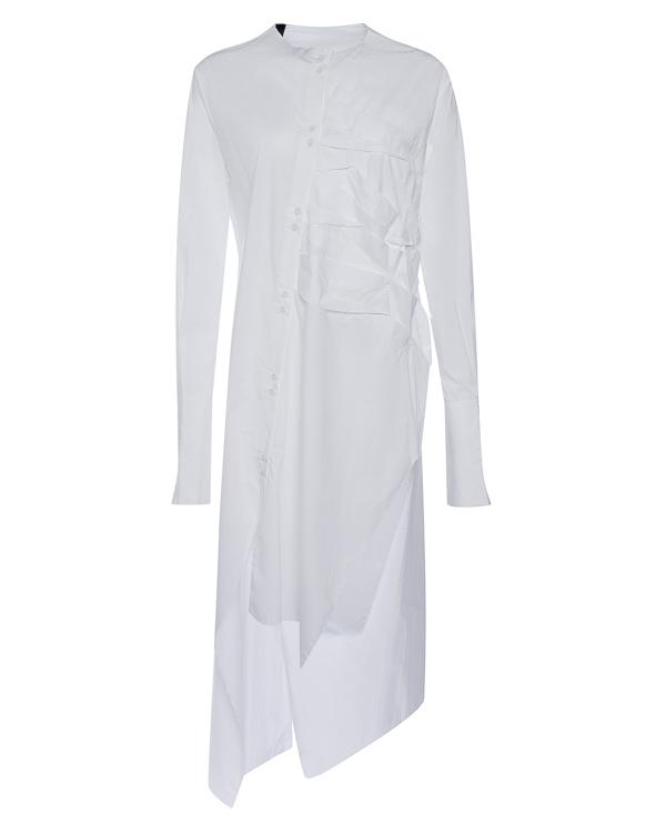 рубашка удлиненного силуэта из тонкого хлопка  артикул DW83F17 марки Isabel Benenato купить за 34600 руб.