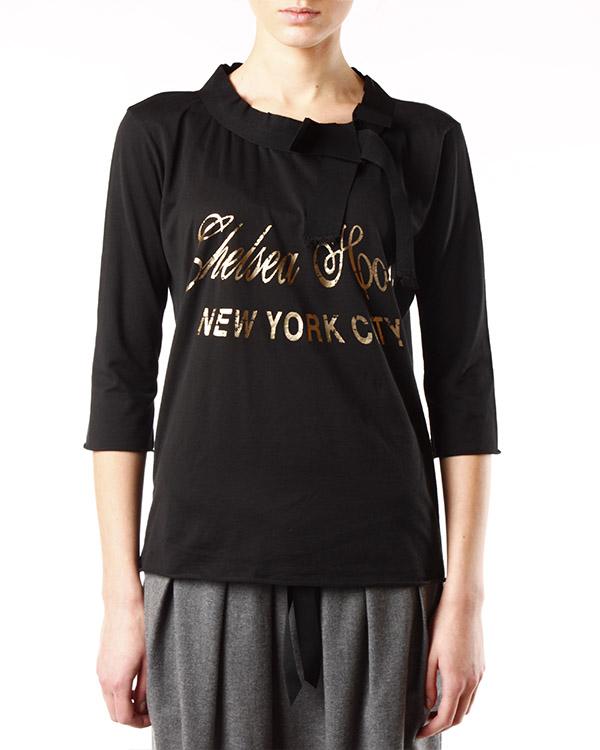 женская футболка SEMI-COUTURE, сезон: зима 2013/14. Купить за 4600 руб. | Фото 1