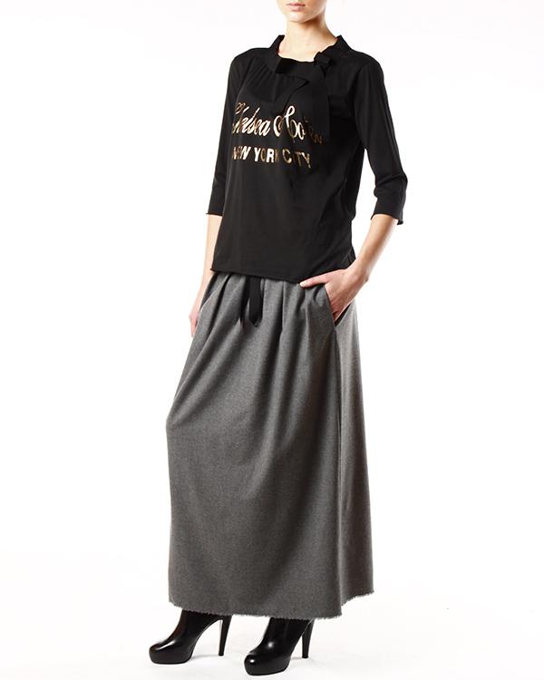 женская футболка SEMI-COUTURE, сезон: зима 2013/14. Купить за 4600 руб. | Фото 3