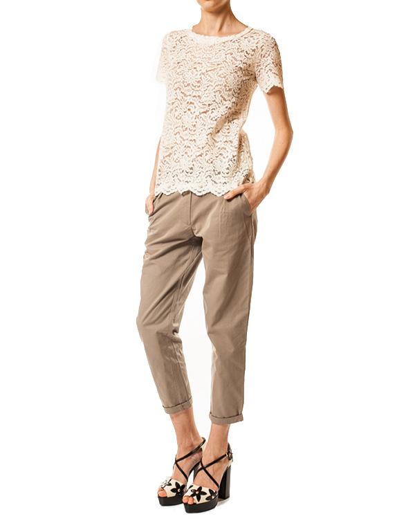 женская брюки SEMI-COUTURE, сезон: лето 2014. Купить за 7000 руб. | Фото 3