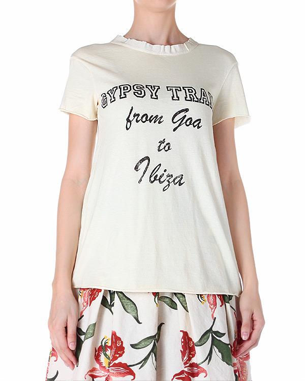женская футболка SEMI-COUTURE, сезон: лето 2014. Купить за 7100 руб.   Фото $i