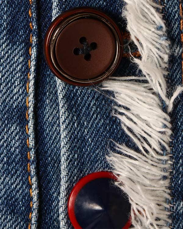 женская джинсы SEMI-COUTURE, сезон: лето 2014. Купить за 9800 руб. | Фото 4