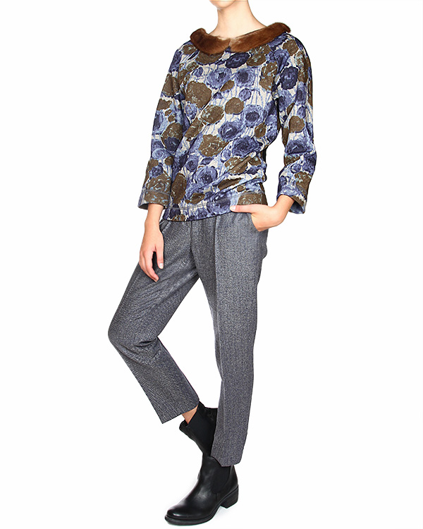 женская брюки SEMI-COUTURE, сезон: зима 2014/15. Купить за 10400 руб. | Фото 3