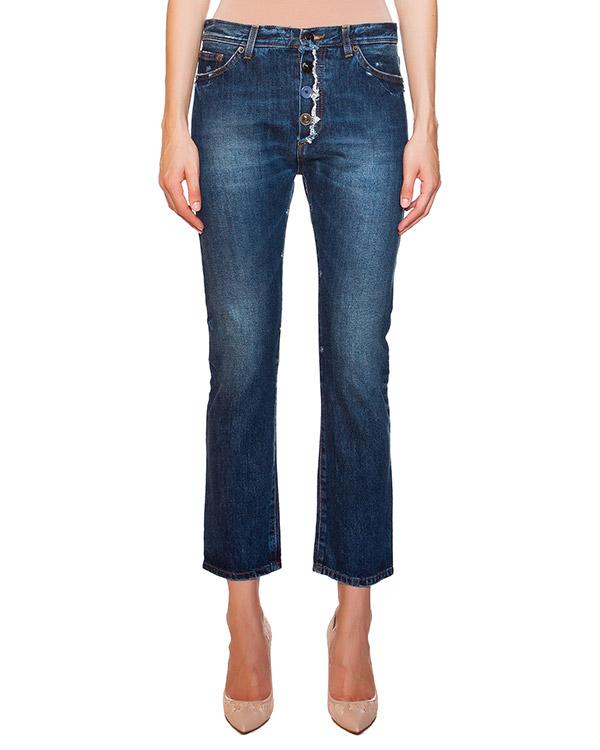 джинсы со средней посадкой, незауженные, длиною семь восьмых артикул E01321 марки SEMI-COUTURE купить за 9800 руб.