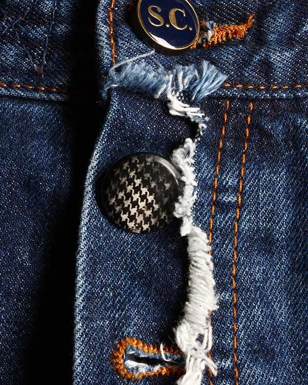 женская джинсы SEMI-COUTURE, сезон: зима 2014/15. Купить за 9800 руб. | Фото 4