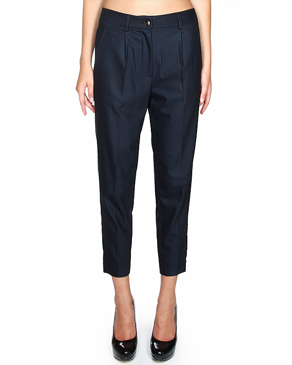 брюки зауженного силуэта, длиною семь восьмых артикул E01445 марки SEMI-COUTURE купить за 7100 руб.