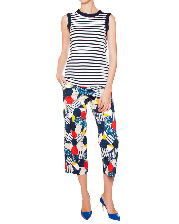 женская брюки SEMI-COUTURE, сезон: лето 2015. Купить за 10500 руб. | Фото $i