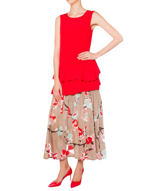 женская юбка SEMI-COUTURE, сезон: лето 2015. Купить за 12900 руб. | Фото 3