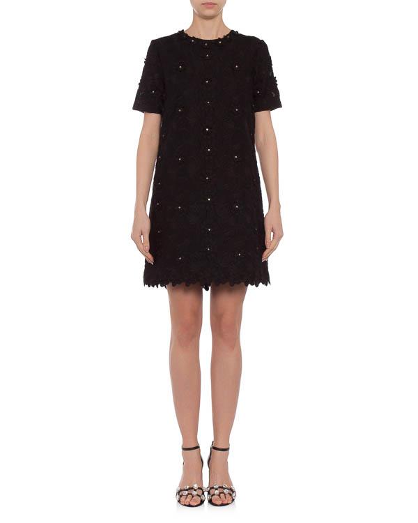 платье из ажурного хлопка со стразами артикул E5SERO марки Manoush купить за 23500 руб.