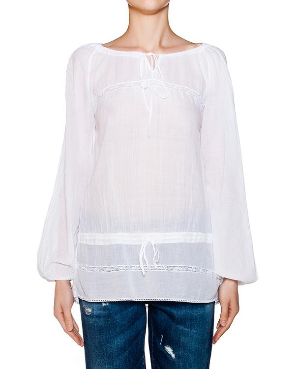 блуза свободного кроя из легкого хлопка артикул EE37F0 марки European Culture купить за 5700 руб.