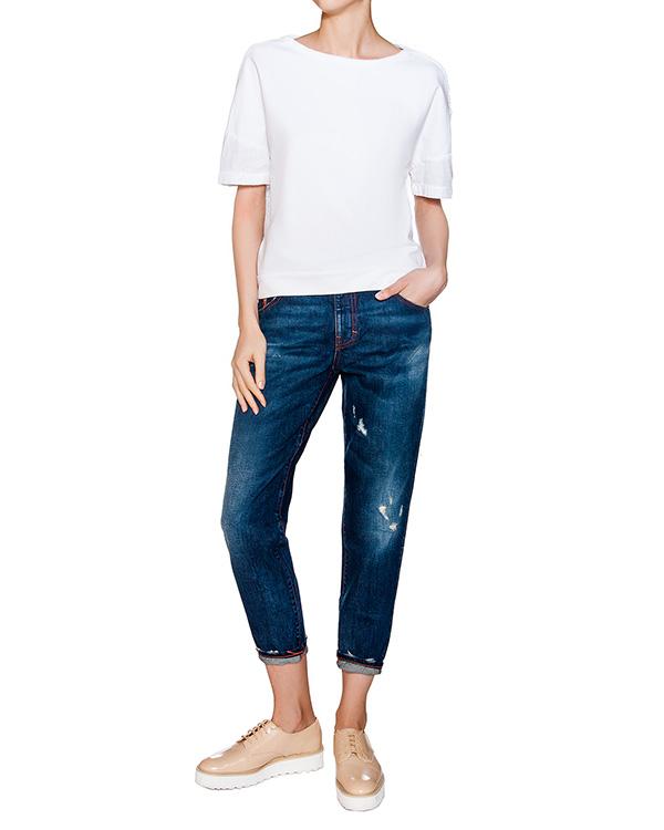 женская джинсы European Culture, сезон: лето 2016. Купить за 5400 руб. | Фото 3