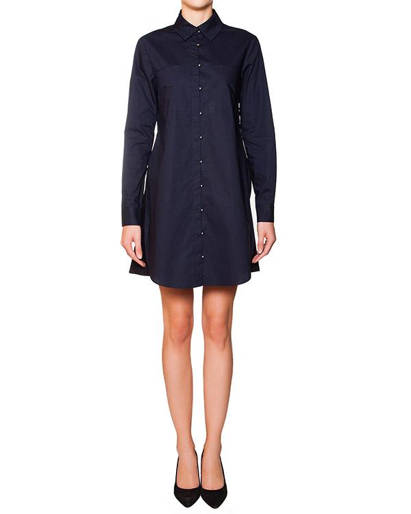 платье рубашка из плотного хлопка с юбкой артикул F151C512PP марки Derek Lam купить за 22500 руб.