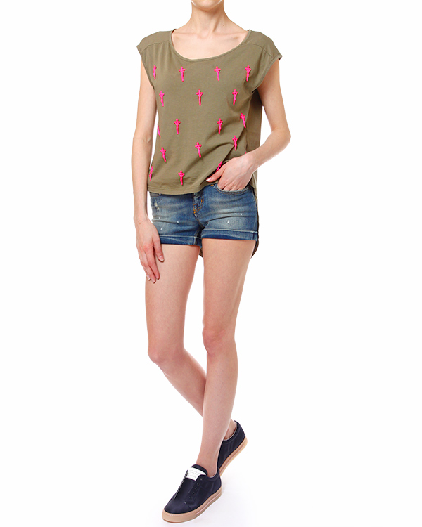 женская шорты REIGN, сезон: лето 2014. Купить за 6000 руб. | Фото 3