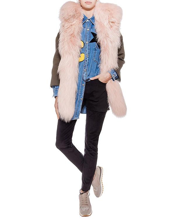 женская джинсы Forte Couture, сезон: зима 2016/17. Купить за 31800 руб. | Фото 3