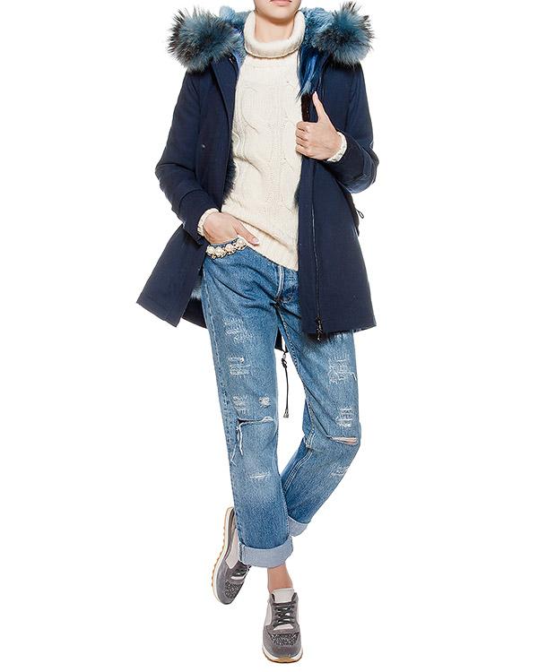 женская парка Forte Couture, сезон: зима 2016/17. Купить за 217800 руб. | Фото 4