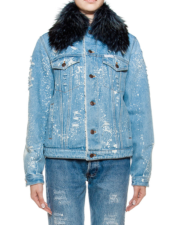 женская куртка Forte Couture, сезон: зима 2016/17. Купить за 47400 руб. | Фото 1
