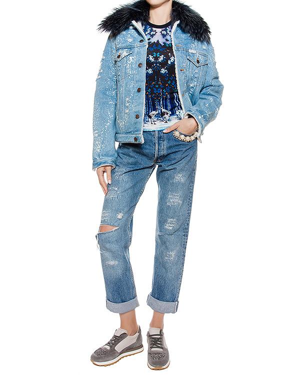 женская джинсы Forte Couture, сезон: зима 2016/17. Купить за 13200 руб. | Фото 3