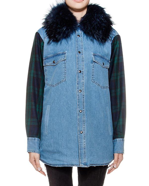 женская куртка Forte Couture, сезон: зима 2016/17. Купить за 24200 руб. | Фото 1